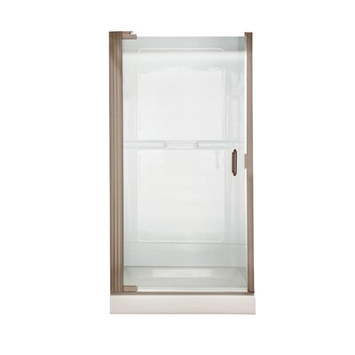 American Standard Euro Frameless By-Pass Shower Doors