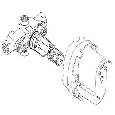 "American Standard Ceratherm 1/2"" Rough Thermostatic Valve Body  (A4216NU)"