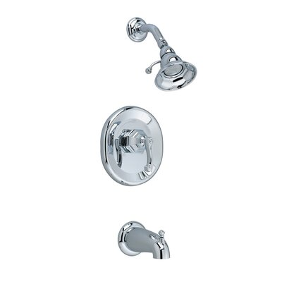 American Standard Dazzle Bath Tub and Shower Faucet with Trim with Lever Handle