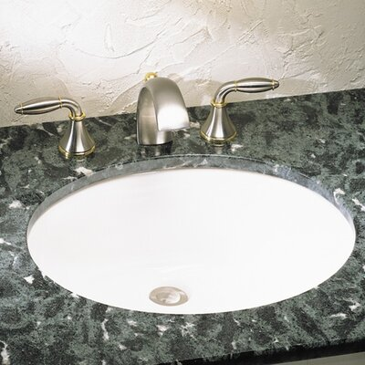 Ovalyn Undercounter Bathroom Sink - 0496300