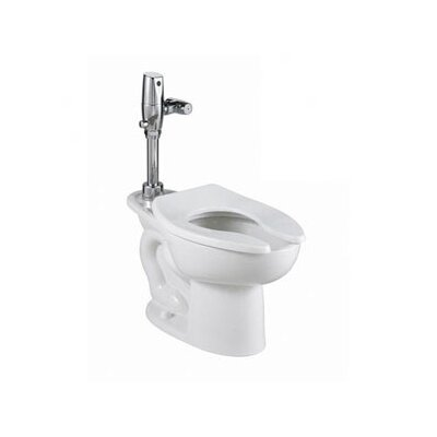 American Standard Madera Everclean Universal Back Spud/Bedpan Elongated Toilet Bowl Only