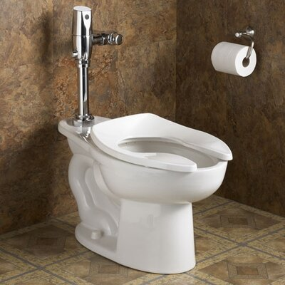 American Standard Madera Universal 1.6 GPF Elongated Toilet Bowl Only with Top Spud