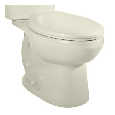H2option Siphonic Dual Flush 1.6 GPF Elongated Toilet Bowl Only