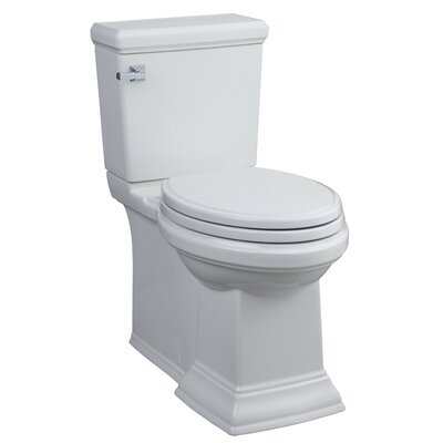 American Standard Town Square Flowise Right Height 1.28 GPF Elongated 2 Piece Toilet