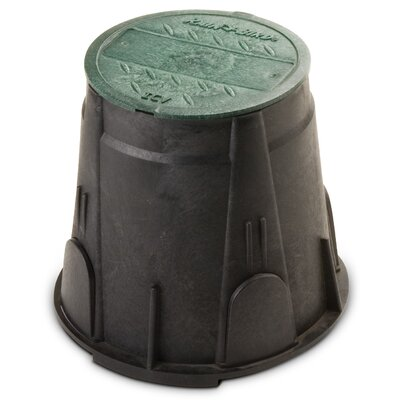"Rainbird 7"" Round Valve Box with Lid"