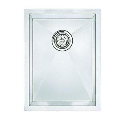"Blanco Precision 18"" x 15"" Medium Bowl Kitchen Sink"