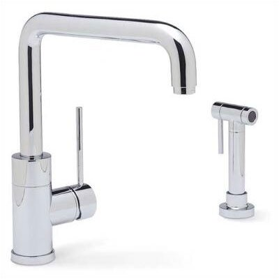 Blanco Purus I Single Handle Single Hole Kitchen Faucet  with Metal Side Spray