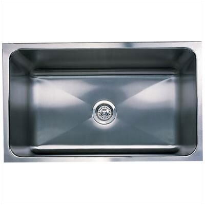 "Blanco Magnum 30"" x 18"" Large Single Bowl Undermount Kitchen Sink"