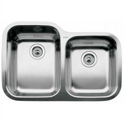 "Blanco Supreme 31.31"" x 20.88"" Bowl Undermount Kitchen Sink"