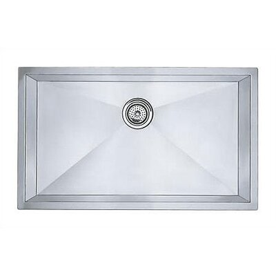 "Blanco Precision 32"" x 19"" Super Single Bowl Undermount Kitchen Sink"
