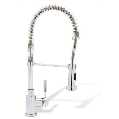 Meridian Single Handle Single Hole Semi-Professional Spray Kitchen Faucet