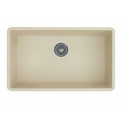 "Blanco Precis 32"" x 19"" Super Single Bowl Kitchen Sink"