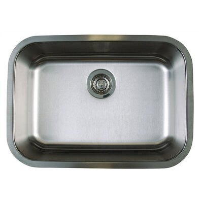 "Blanco Stellar 25"" x 18"" Medium Single Bowl Undermount Kitchen Sink"