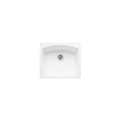 "Blanco Diamond 25"" x 22"" Single Bowl Drop-In Kitchen Sink"