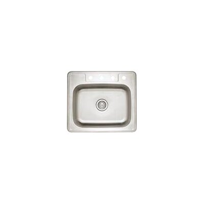 "Blanco Spex II 22"" x 25"" Single Bowl Self-Rimming Kitchen Sink"