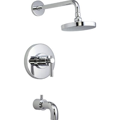Schon Ulm Pressure Balance Tub and Shower Faucet Trim
