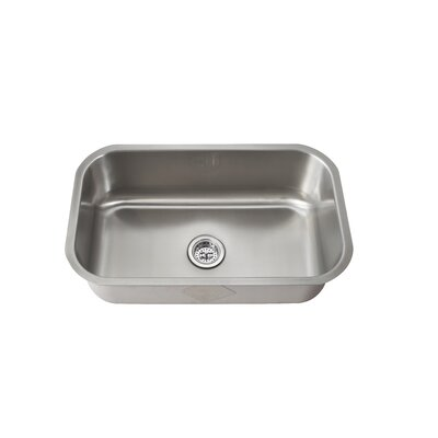 "Schon 28"" x 16"" Single Bowl Kitchen Sink"