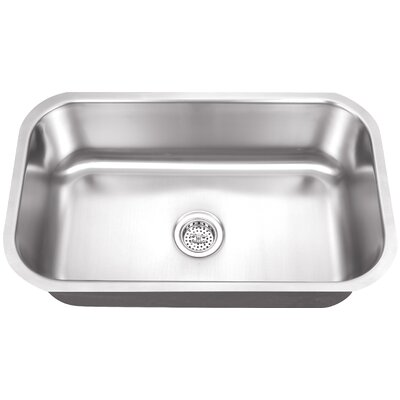 "Schon 30"" x 19"" Single Bowl Kitchen Sink"