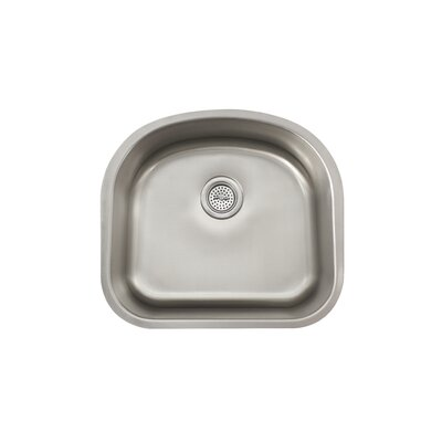 "Schon 21.25"" x 18.88"" Single Bowl Kitchen Sink"