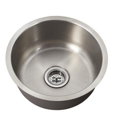 """Schon 16"""" x 16"""" Single Bowl Bar Sink"""