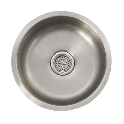 "Schon 16"" x 16"" Single Bowl Bar Sink"