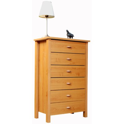 Venture Horizon Compressed Wood 6 Drawer Chest