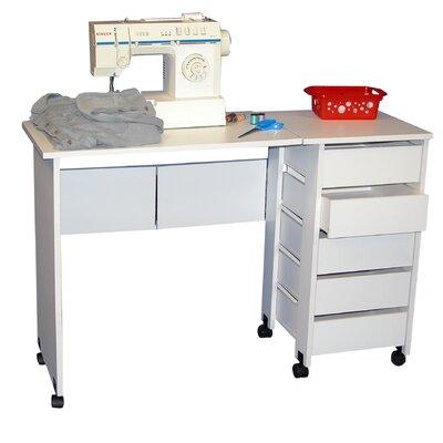 Venture Horizon VHZ Office Mobile Armoire Desk