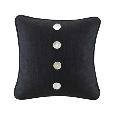 Hampton Hill Calypso 18&quot; Decorative Pillow in Black