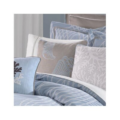 Hampton Hill Zen Shell Design Cotton Decorative Pillow