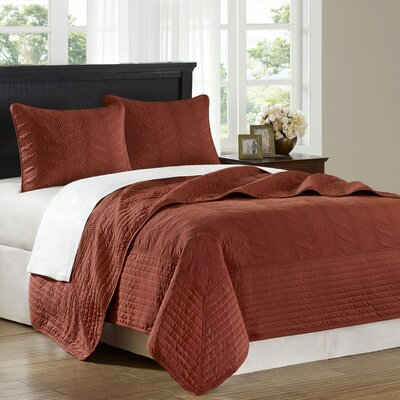 Hampton Hill Stonebridge 3 Piece Coverlet Set