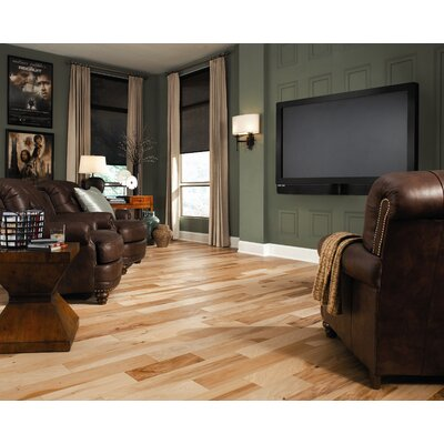 "Ark Floors Artistic 5"" Engineered Distressed Hickory Flooring in Natural"