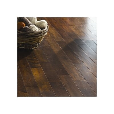 "Ark Floors French 4-3/4"" Engineered Maple Flooring in Kahlua"