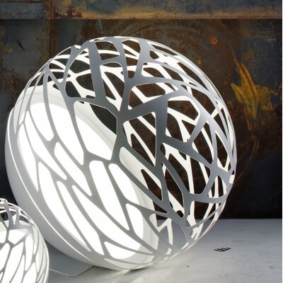 Studio Italia Design Kelly Laser Cut Sphere Table Lamp