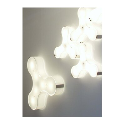 "Studio Italia Design Tris 7.08"" Wall / Ceiling Light"