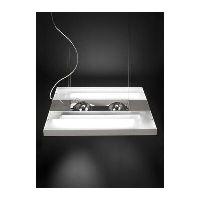 Studio Italia Design Zen Suspension in White Metal