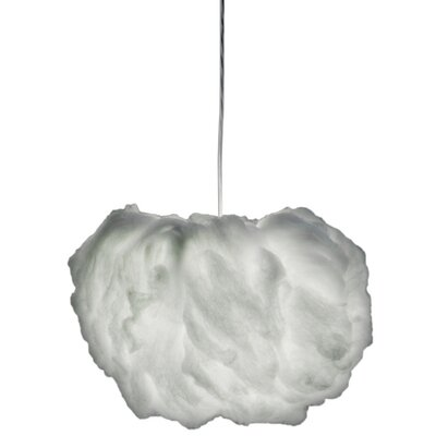 Studio Italia Design Nuvola 2 Light Small Luminous Cloud Pendant with Custom Fabric Diffuser