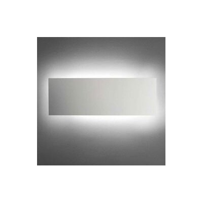 Studio Italia Design Inpiano Large Square Wall or Ceiling Fixture with Metal Diffuser