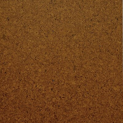 "WE Cork Classic 4"" Engineered Cork Oak Flooring in Medium Shade"