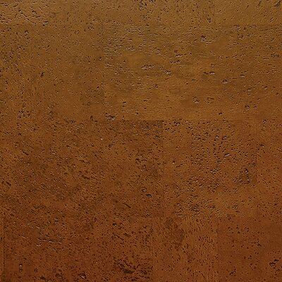 "WE Cork Avant Garde 11-7/8"" Engineered Cork Oak Flooring in Saddle Monte Carlo"