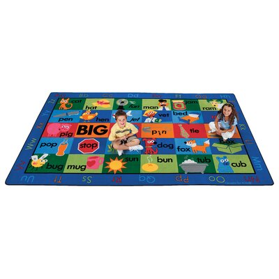 Carpets for Kids Printed Rhyme Time Kids Rug