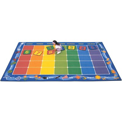 Carpets for Kids Theme Calendar Kids Rug