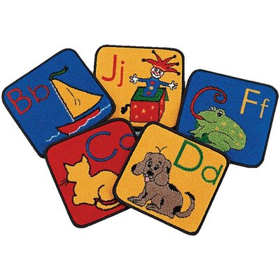 Carpets for Kids Carpet Kits ABC Phonic Block Kids Rugs
