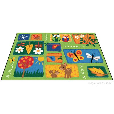 Carpets for Kids Printed Nature's Toddler Kids Rug