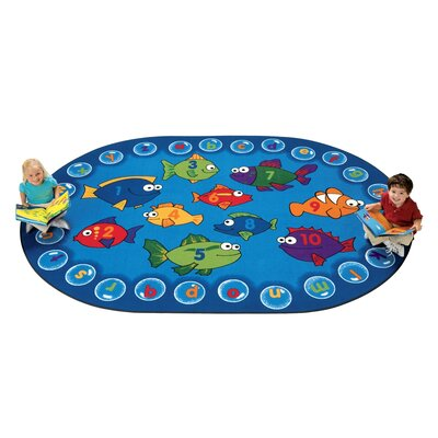 Carpets for Kids Literacy Fishing Kids Rug