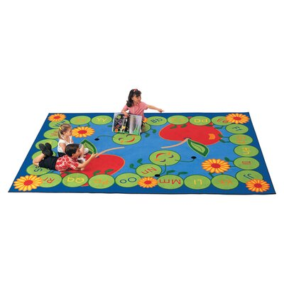 Carpets for Kids Literacy ABC Caterpillar Kids Rug