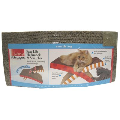 PetStages Easy Life Hammock and Scratcher Toy