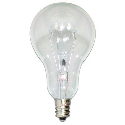 Bulbrite Industries Candelabra 60W 130-Volt (2700K) Incandescent Light Bulb