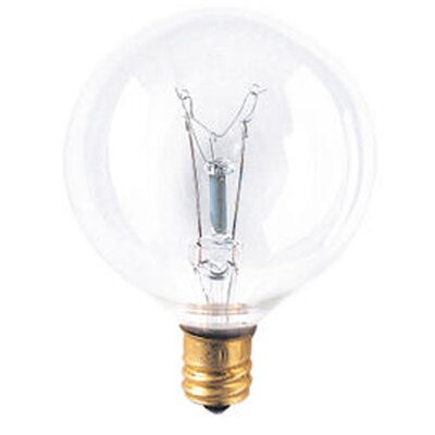 Bulbrite Industries Candelabra 15W 130-Volt (2700K) Incandescent Light Bulb