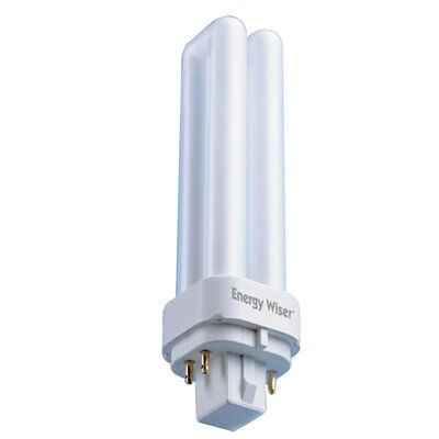 Bulbrite Industries Dimmable 120-Volt (3500K) Compact Fluorescent Light Bulb