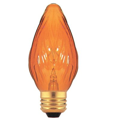 Bulbrite Industries Amber 130 - Volt (2700K) Incandescent Light Bulb (Pack of 8)